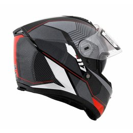 Red Vega Stealth Mens F-117 Neon Graphic Full Face Helmet 2013