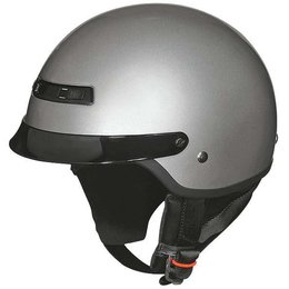 Silver Z1r Nomad Half Helmet