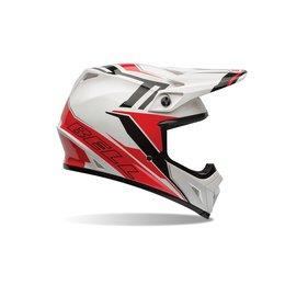 Bell Powersports MX-9 Barricade Helmet Red
