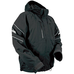 HMK Mens Action 2 Waterproof Snowmobile Jacket Black