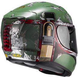 HJC Officially Licensed Marvel Boba Fett RPHA 11 Pro Full Face Helmet Green