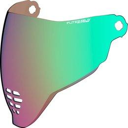 Icon Airflite Helmet Shield Green