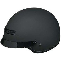 Rubatone Black Z1r Nomad Half Helmet