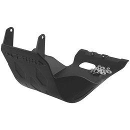 Black Acerbis Plastic Skid Plate For Kawasaki Kx250f 09-11