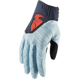 Thor Mens Rebound Gloves Blue