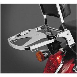 National Cycle Paladin Luggage Rack Chrome For Honda Kawasaki Suzuki Yamaha Metallic