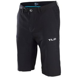Troy Lee Designs Mens Circuit Polyester Blend Cargo Shorts Black