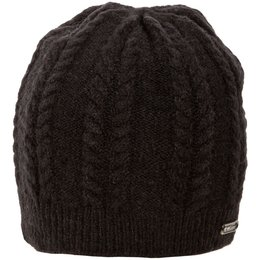 Klim Womens Pow Over The Ear Knit Beanie Black