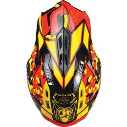 Just1 J12 J-12 Tim Gajser Replica MX Helmet Red