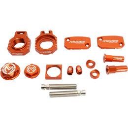 Moose Racing Aluminum Bling Pack KTM 250 350 450 SXF XCF Orange 1231-0914 Orange
