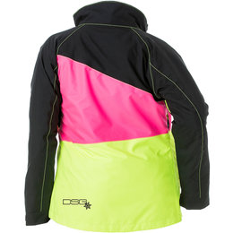 Divas Womens Verge Waterproof Insulated Snowmobile Jacket Black