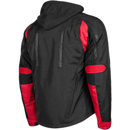 Speed & Strength Mens Fast Forward Armored Textile Jacket Red