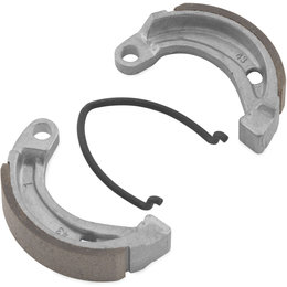 Bikemaster ATV Front Brake Shoes Single Set For Can-Am Honda MBS1135A Unpainted