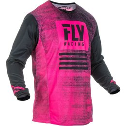 Fly Racing Mens Kinetic Noiz Jersey Pink
