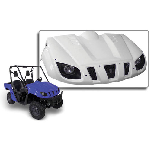 $390 95 Maier Front Hood White For Yamaha Rhino 450 660 #169680