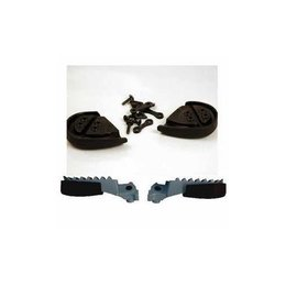 UFO Plastics Footpeg Protectors Black For Honda