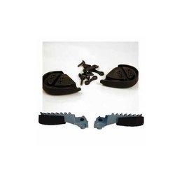 UFO Plastics Footpeg Protectors Black For Honda