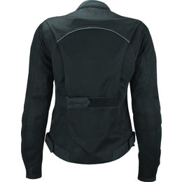 Highway 21 Womens Aira Mesh Armored Jacket Black
