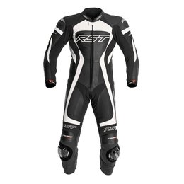 White Rst Mens Tractech Evo 1 Piece Leather Suit 2014 Us 42 Eu 52