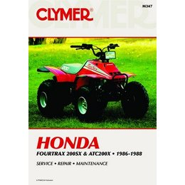 Clymer Repair Manual For Honda ATV 200SX ATC200X 86-88