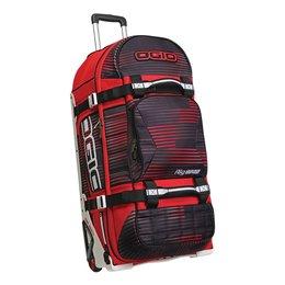 Ogio Rig 9800 Rolling Luggage Wheeled Gear Bag Red
