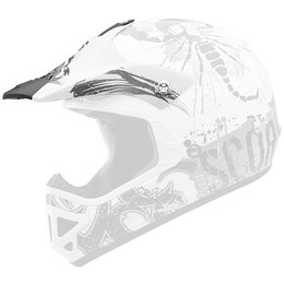 Scorpion Youth VX-9 Rocker Replacement Visor Peak MX/Offroad Helmet Accessory Black