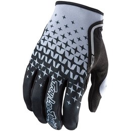 Troy Lee Designs Mens XC Starburst MX Motocross Off-Road Riding Gloves Black