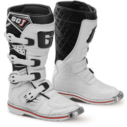 Gaerne Youth Boys SG-J MX Off-Road Motocross Boots White