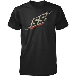 Speed & Strength Mens Critical Mass Cotton T-Shirt Black