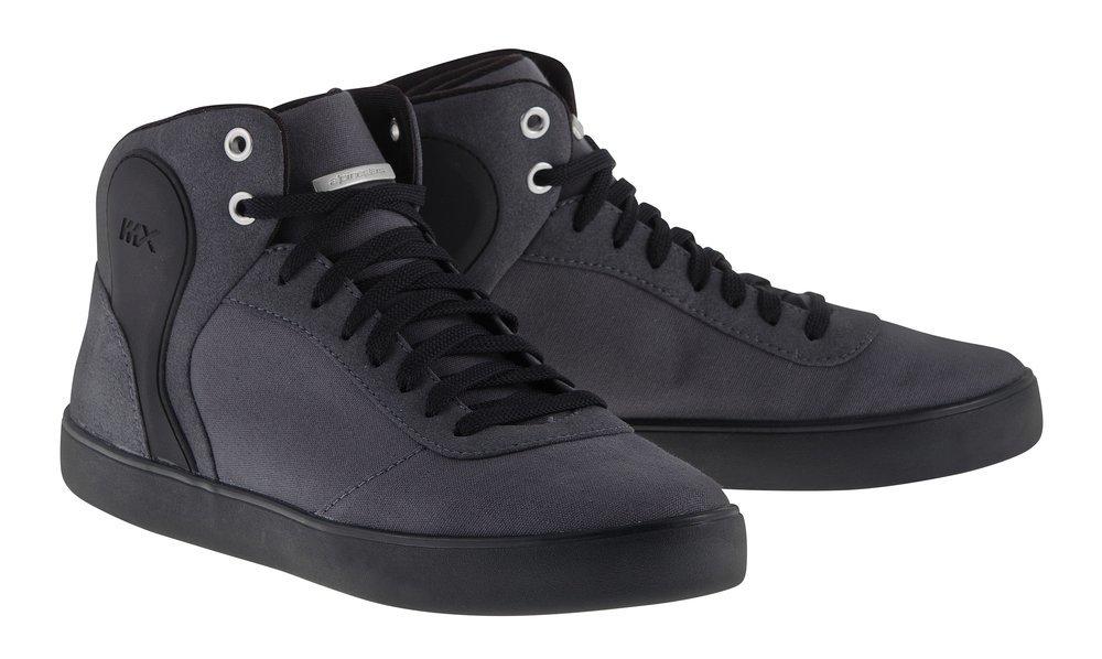 Black grey alpinestars mens san diego riding shoes 2015 us 6 black