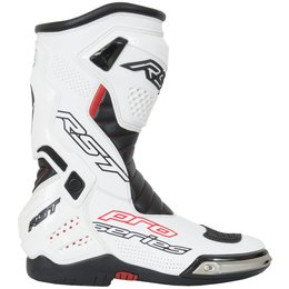 RST Mens Pro Series Race Boots White