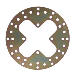 EBC Standard Front ATV Brake Rotor For Bombardier Can-Am Steel 6222D Unpainted