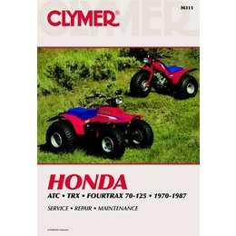 Clymer Repair Manual For Honda ATV ATC TRX 70-125 70-87