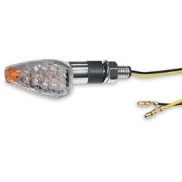 K&S Technologies Marker Lights Ultra Mini LED Triangle Short Chrome Body