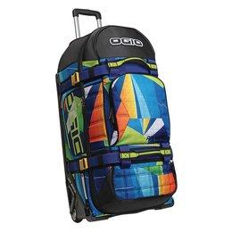 Ogio Rig 9800 Rolling Luggage Wheeled Gear Bag Blue