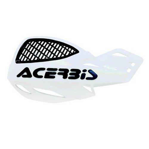 Acerbis Uniko MX Offroad Vented Handguards White//Black 2072670002