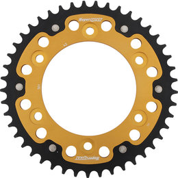 Supersprox Stealth Rear Sprocket 45T Honda XR250R 1990-1995 Gold RST-301-45-GLD Gold