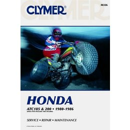 Clymer Repair Manual For Honda ATV ATC185 ATC200 80-86