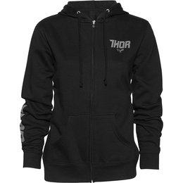 Thor Womens Fin Zip Fleece Hoody Black