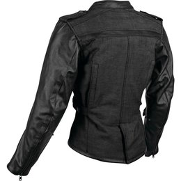 Speed & Strength Womens Six Speed Sisters Armored Textile/Leather Riding Black