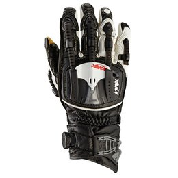 Black, White Knox Mens Hand Armour Handroid Pod Boa Short Lthr Gloves 2014 Black Wht