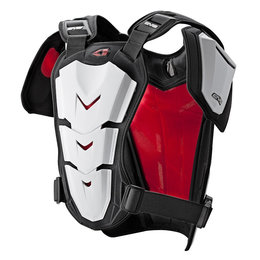 EVS Revolution 5 Roost Guard Chest Protector White