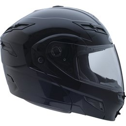 GMax GM54S Modular Snow Helmet With Dual Pane Flip Up Shield And Built In LED Black