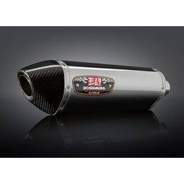 Stainless Steel Mid Pipe/stainless Steel Muffler/carbon Fiber End Cap Yoshimura R-77 Epa Compliant Slip-on Muffler Ss Ss Cf For Suzuki Gsx-r600 11-13