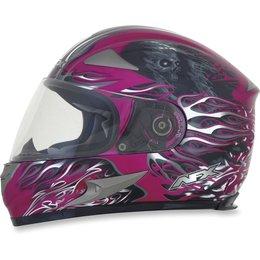 Fuchsia Afx Womens Fx-90 Fx90 Reaper Full Face Helmet