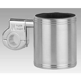Kruzer Kaddy Drink Holder Mounts To 1 Inch Or 1-1/4 Inch Bar Stainless Universal