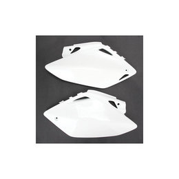UFO Plastics Side Panels White For Honda CRF250/450R 11