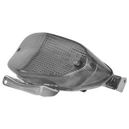 BikeMaster Integrated Smoke LED Taillight For Suzuki TZS-018-INT-S Unpainted