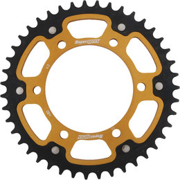 Supersprox Stealth Rear Sprocket 43T Suzuki GSXR GSXS Yamaha Gold RST-480-43-GLD Gold