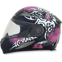 Fuchsia Afx Womens Fx-90 Fx90 Danger Full Face Helmet